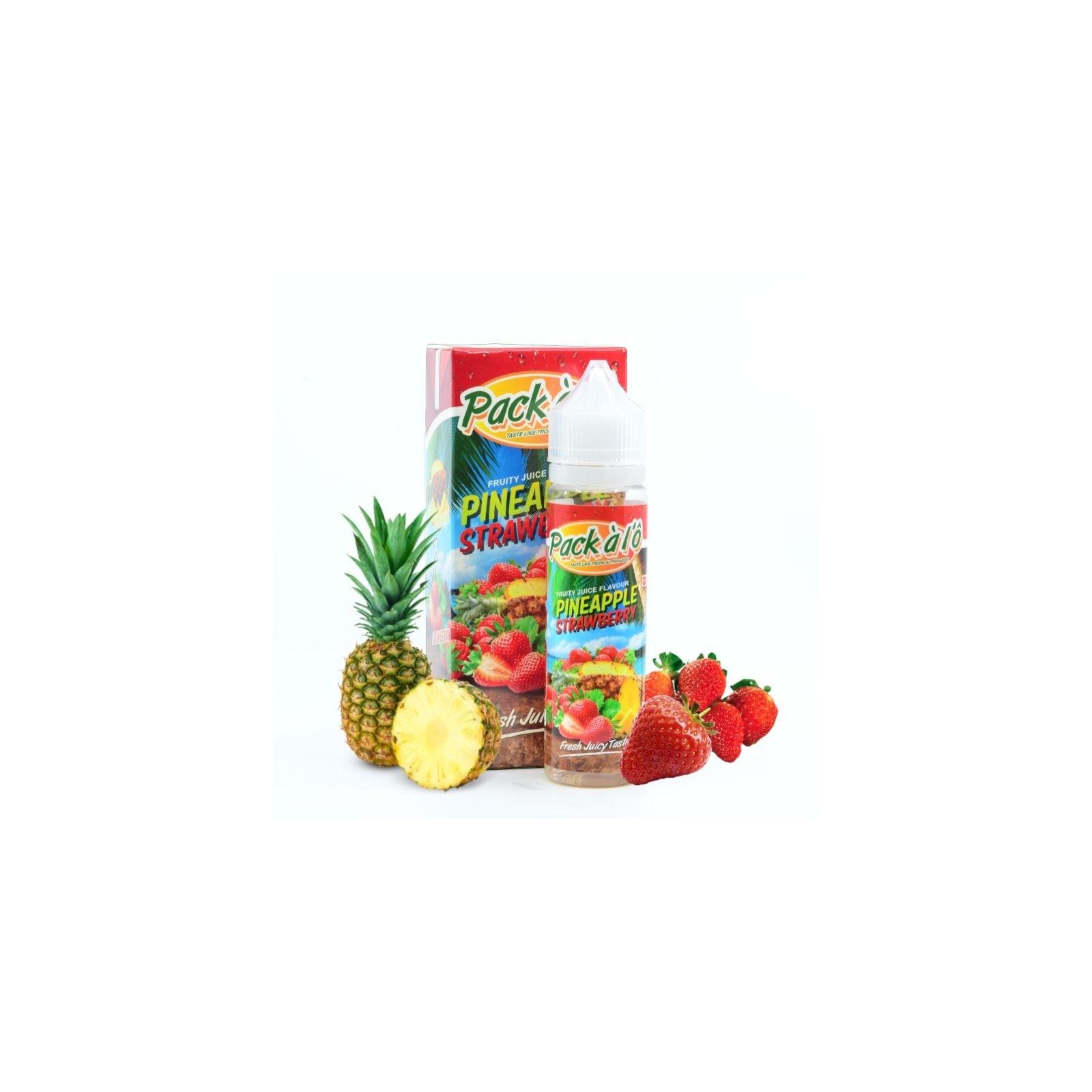Pineapple Strawberry 50ml - Pack à l'ô