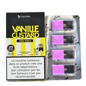 Cartouche Vanille Custard Liquideo - W Pod