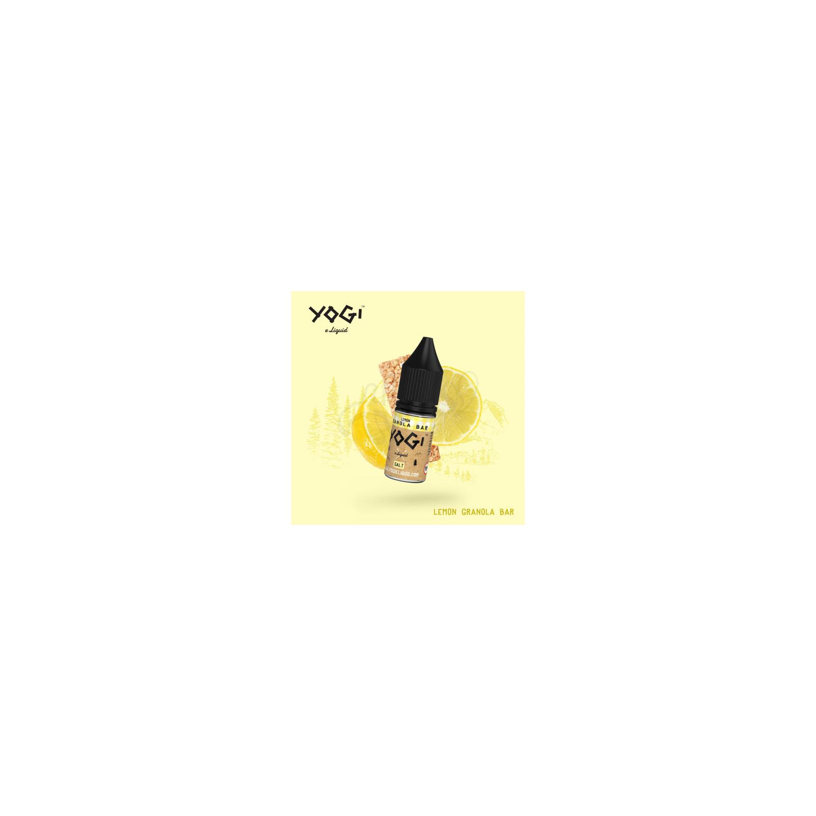 Blueberry Granola Bar Sel de Nicotine 10 ml - Yogi