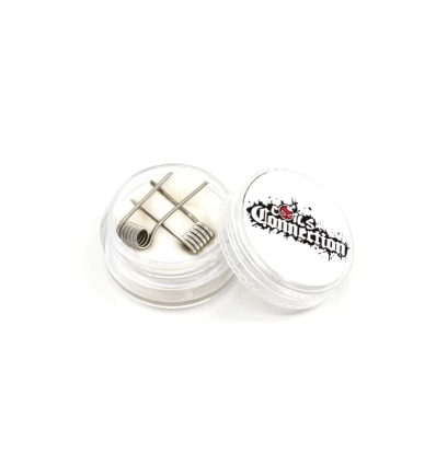 Fused Clapton Ni 80 - Coils connection
