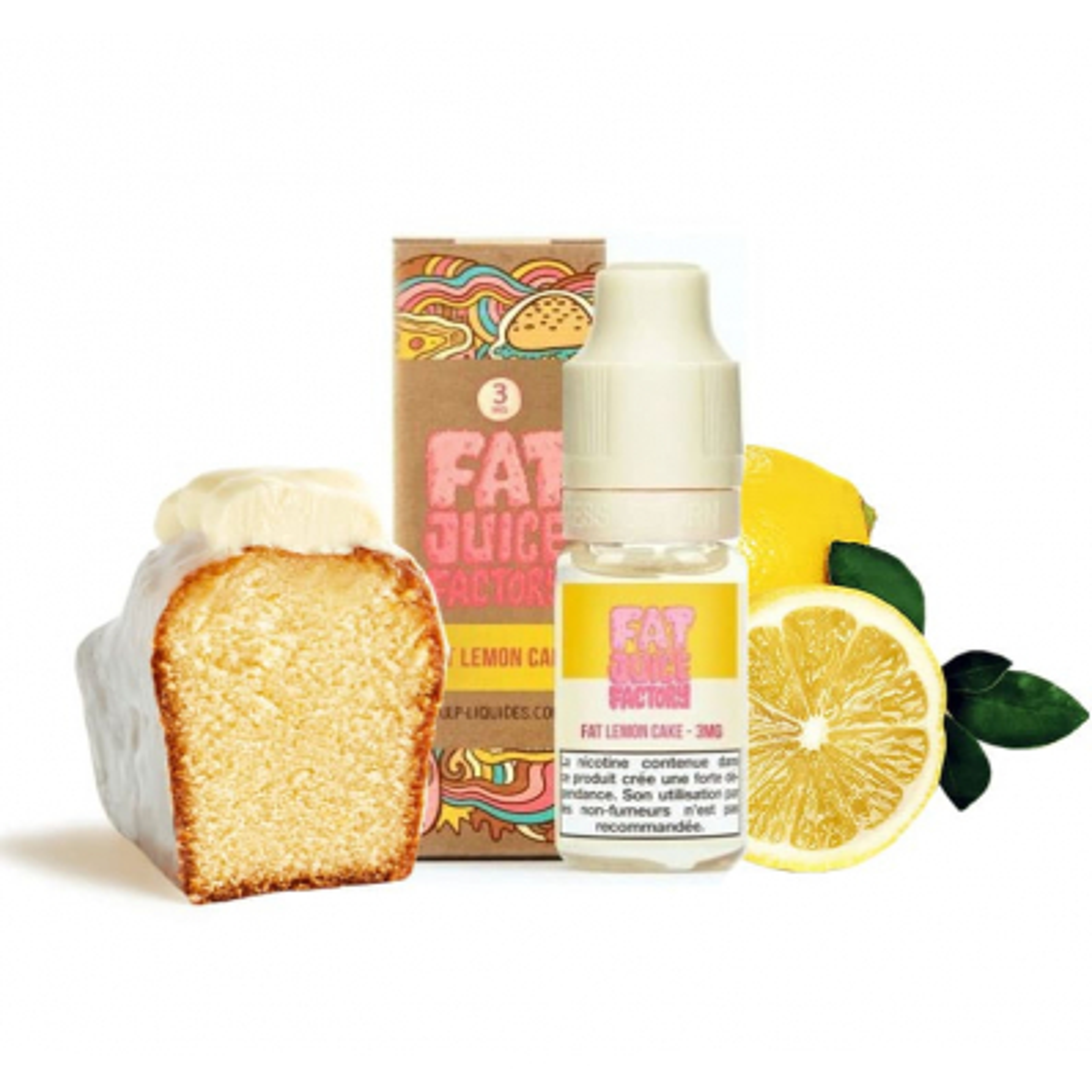 Fat Lemon Cake 10ml - Pulp