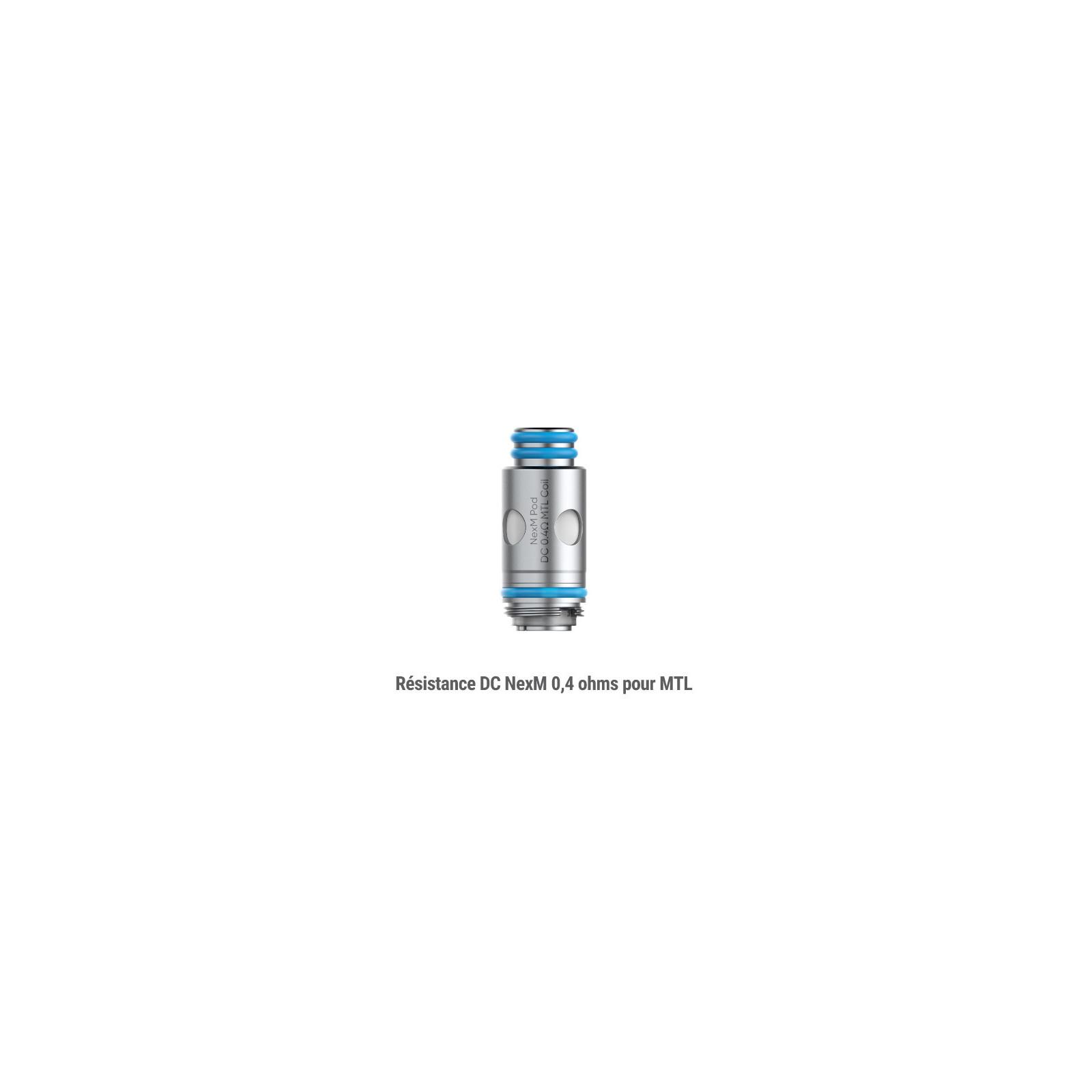 Résistances NexM MTL - Smoktech x OFRF
