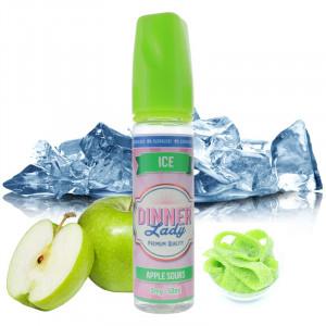 Apple Sours Ice 0% sucralose 50ml - Dinner Lady