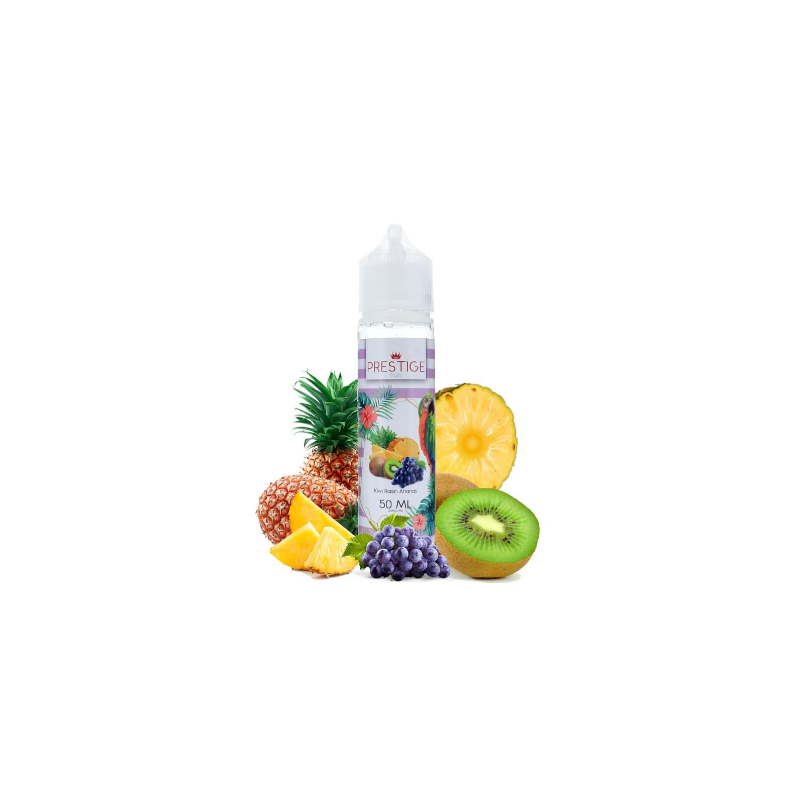 Kiwi Raisin Ananas 50ml - Prestige Fruits