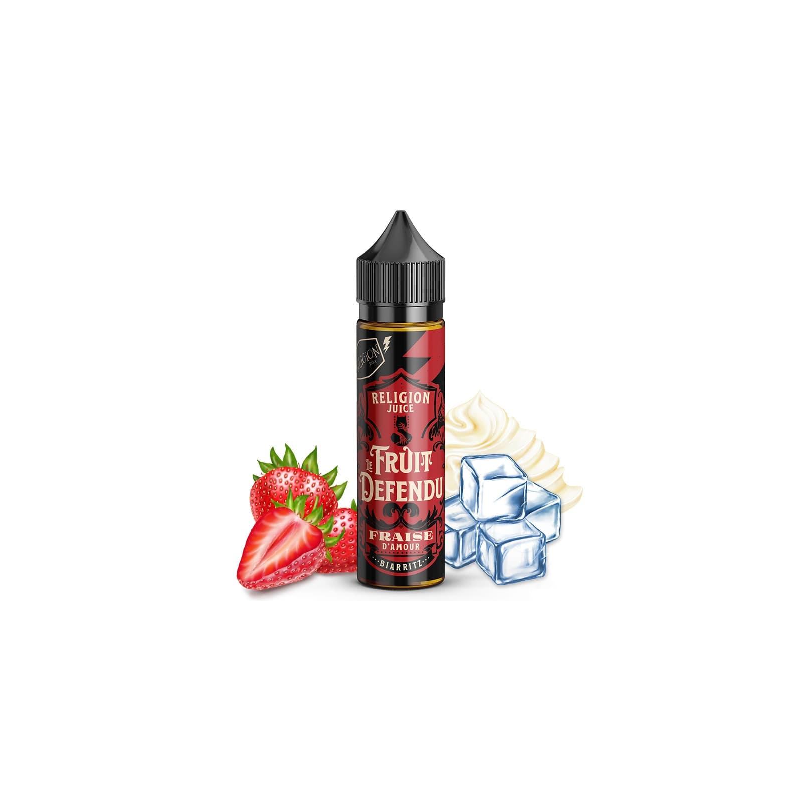 Fraise d'Amour 50ml Le Fruit Défendu - Religion Juice