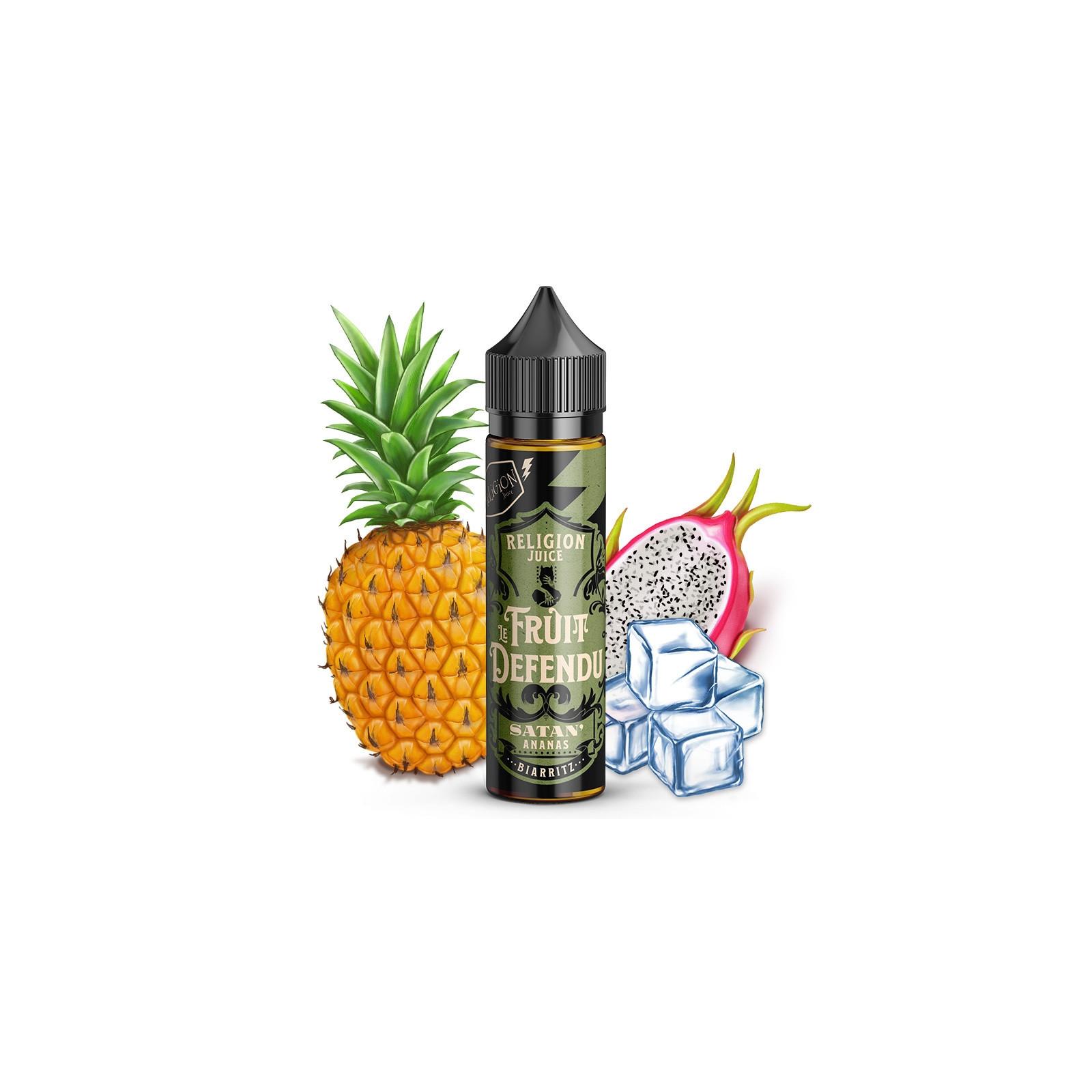Satan'ananas 50ml Le Fruit Défendu - Religion Juice