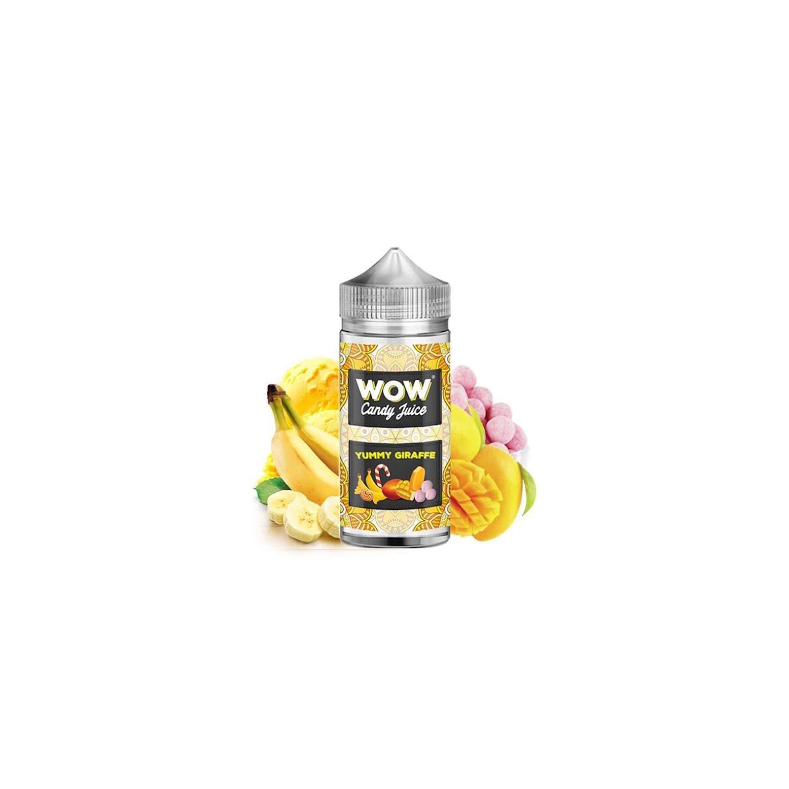 Yummy Giraffe 100ml - WOW Candy Juice