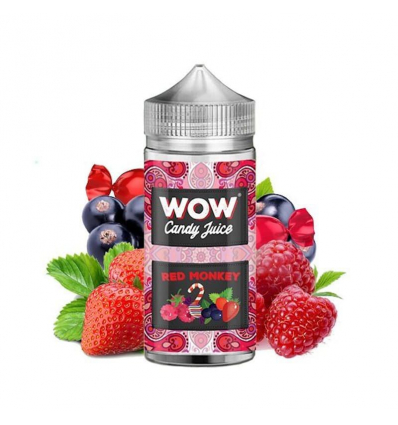 Red Monkey 100ml - WOW Candy Juice