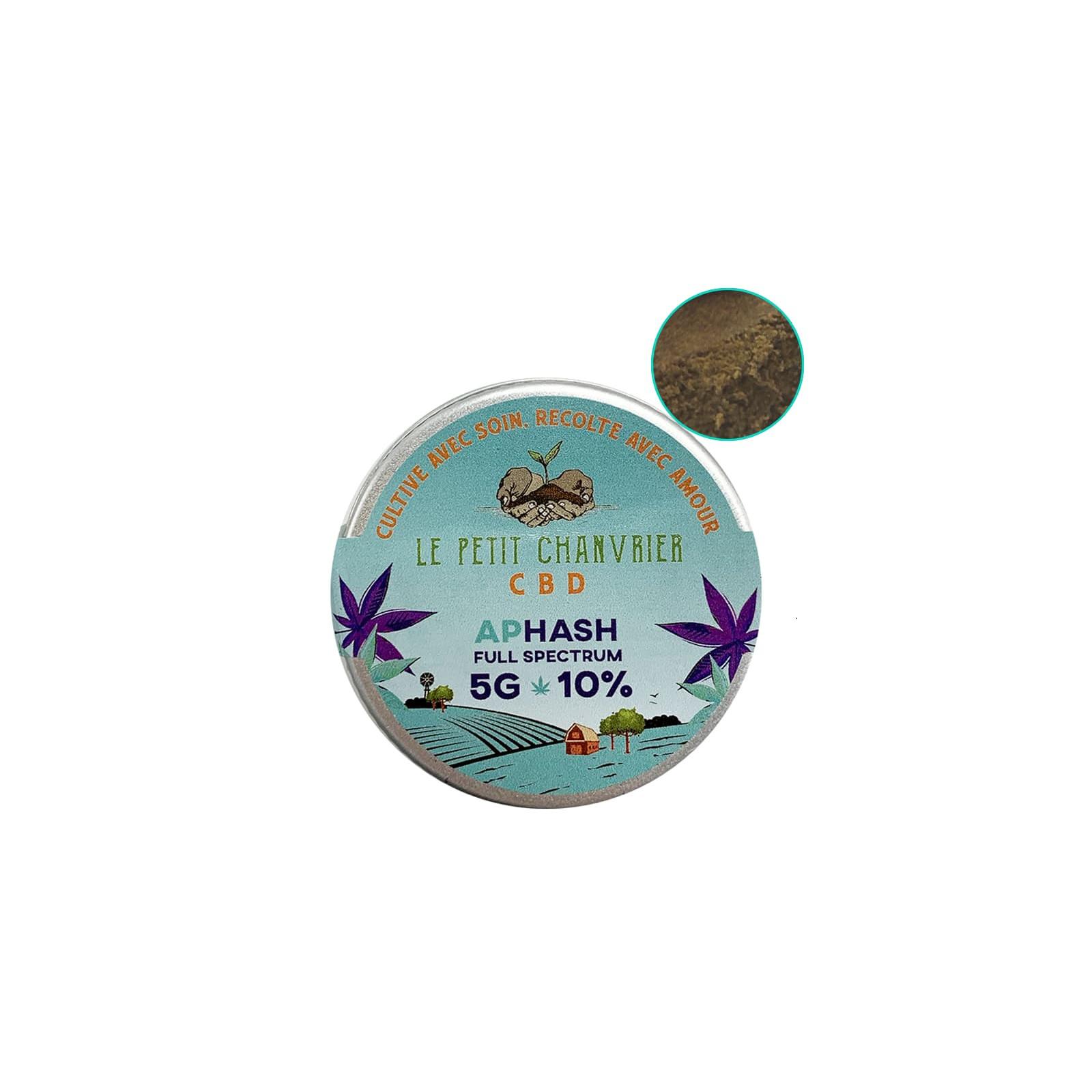 Aphash CBD Solide 10% - Le Petit Chanvrier