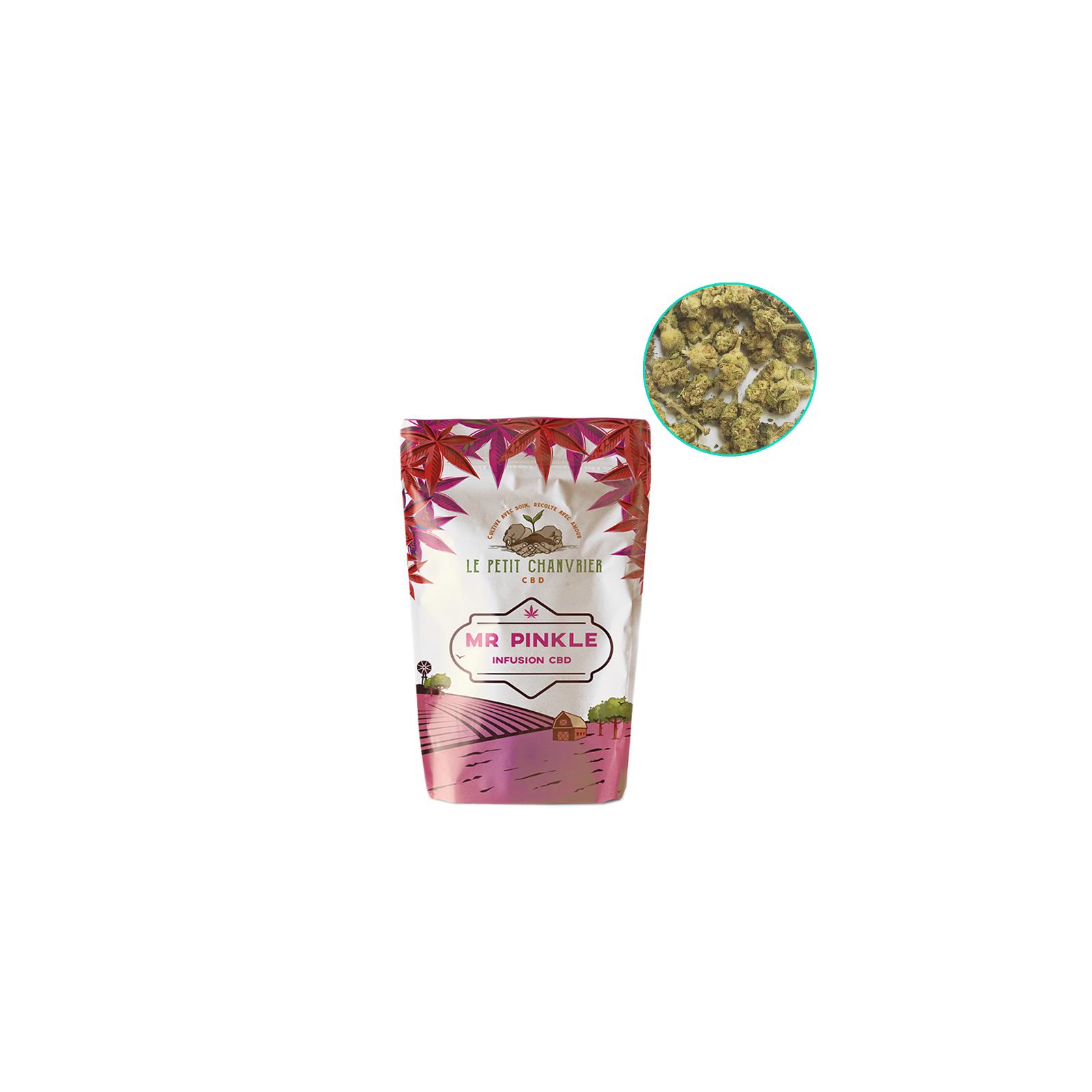 """Fleur de CBD """"Mr Pinkle"""" - Le Petit Chanvrier"""