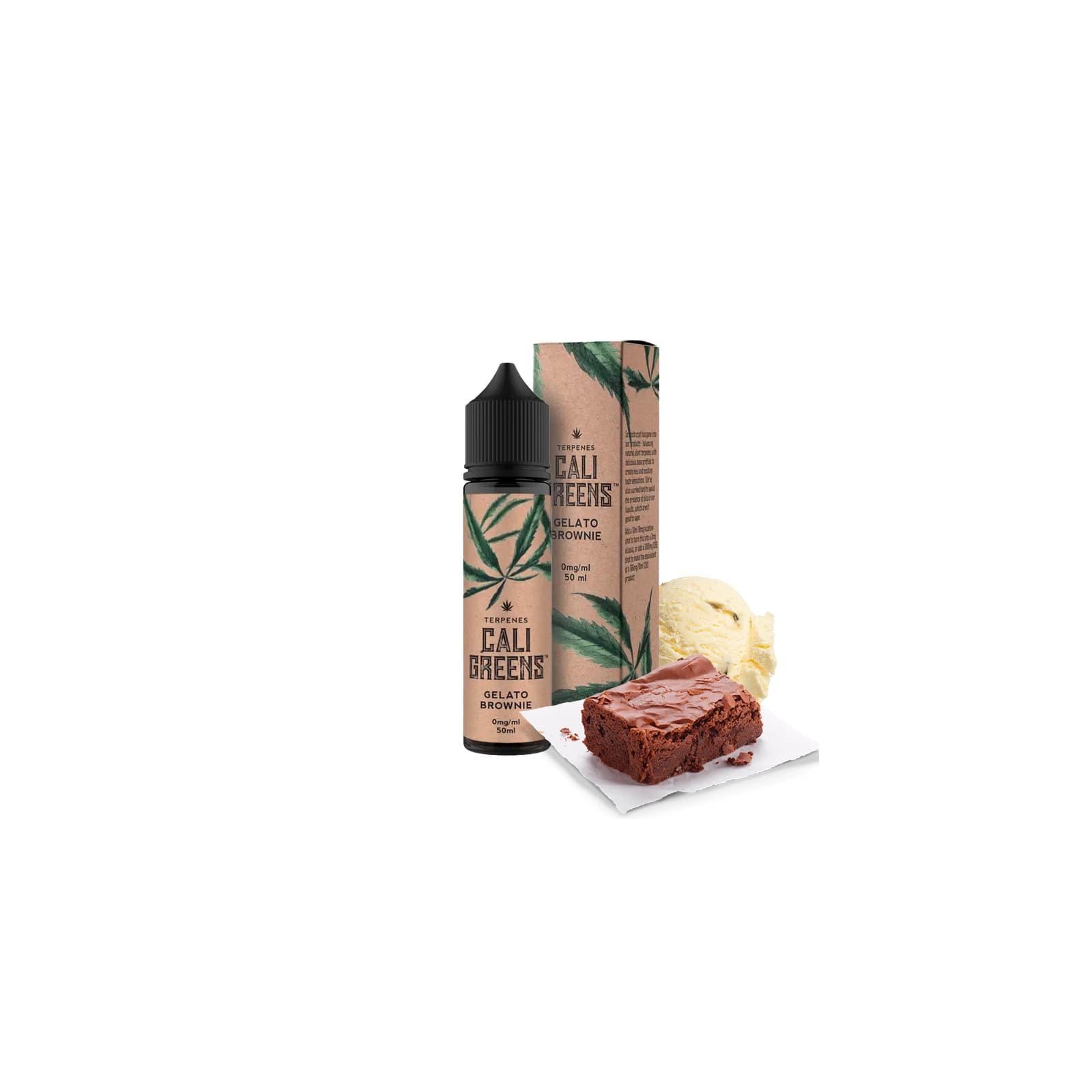 Gelato Brownie 50ml - Cali Greens
