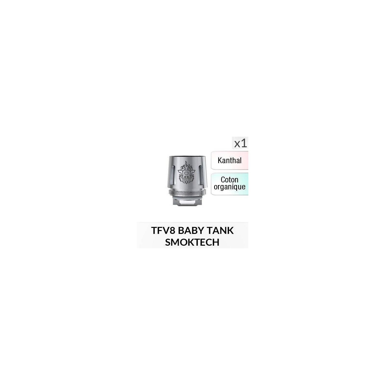 Résistance V8 Baby X4 / 1 Pièce - SMOKTECH