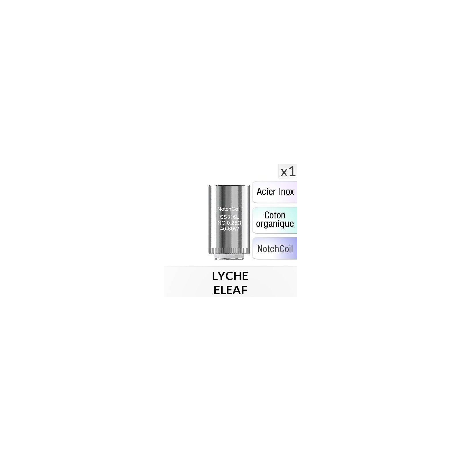 Résistance Lyche NotchCoil - 1 Pièce - ELEAF