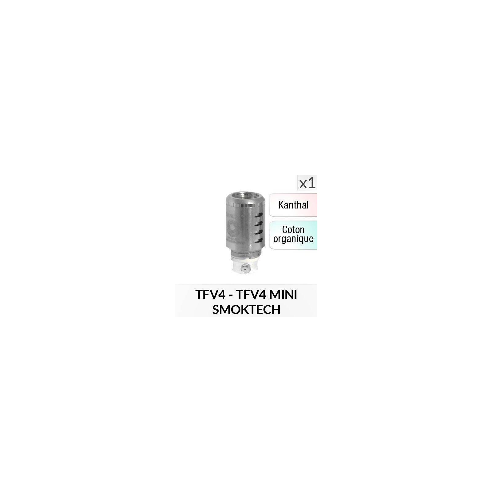 Résistance TFV4 - 1 Pièce - SMOKTECH