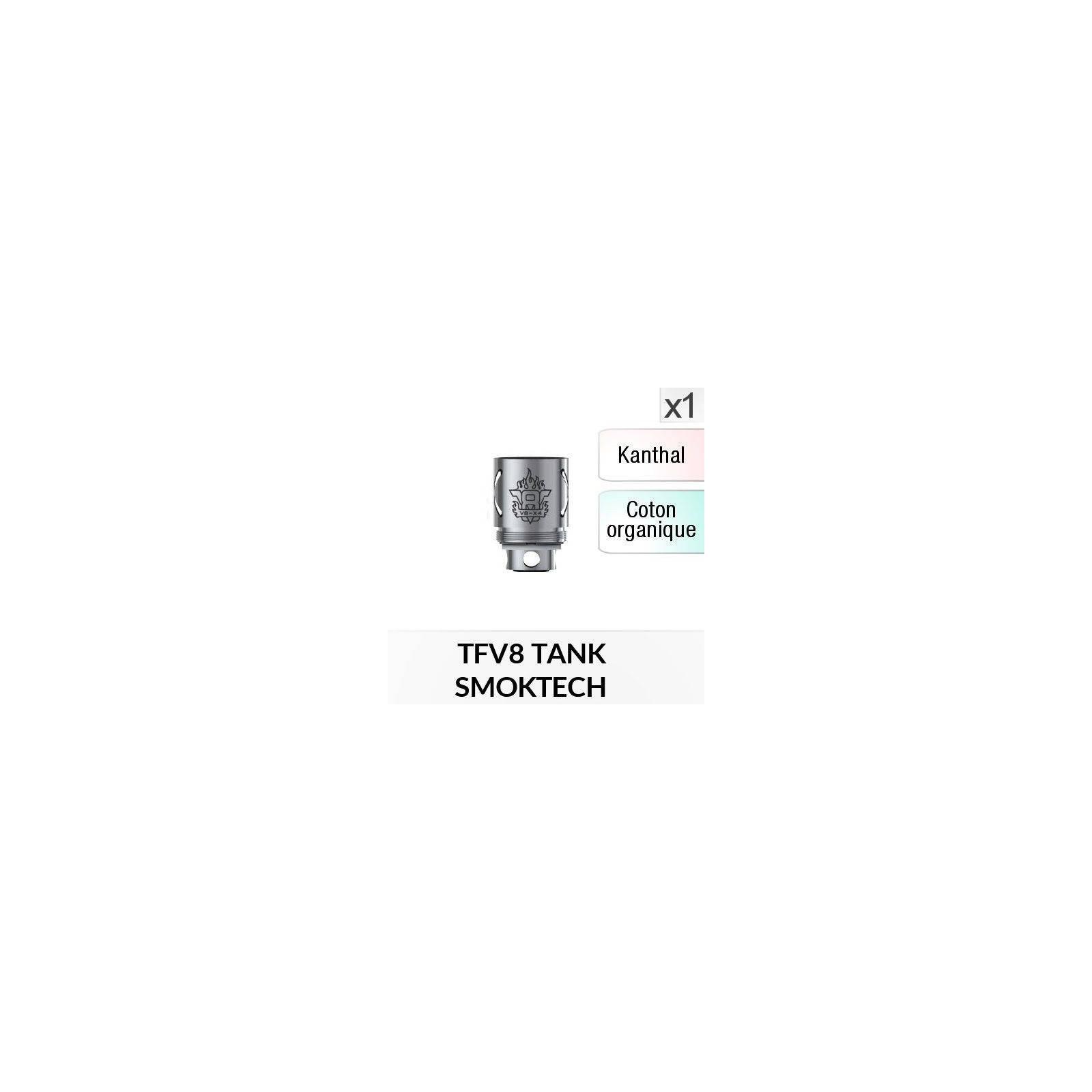 Résistance V8 X4 / 1 Pièce - SMOKTECH
