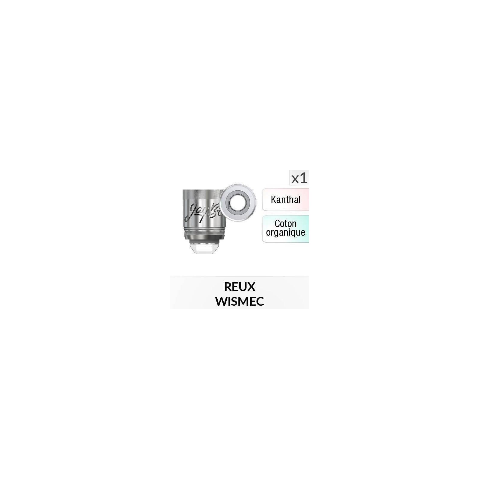 Résistance Reux Mini Triple Coil / 1 Pièce - WISMEC