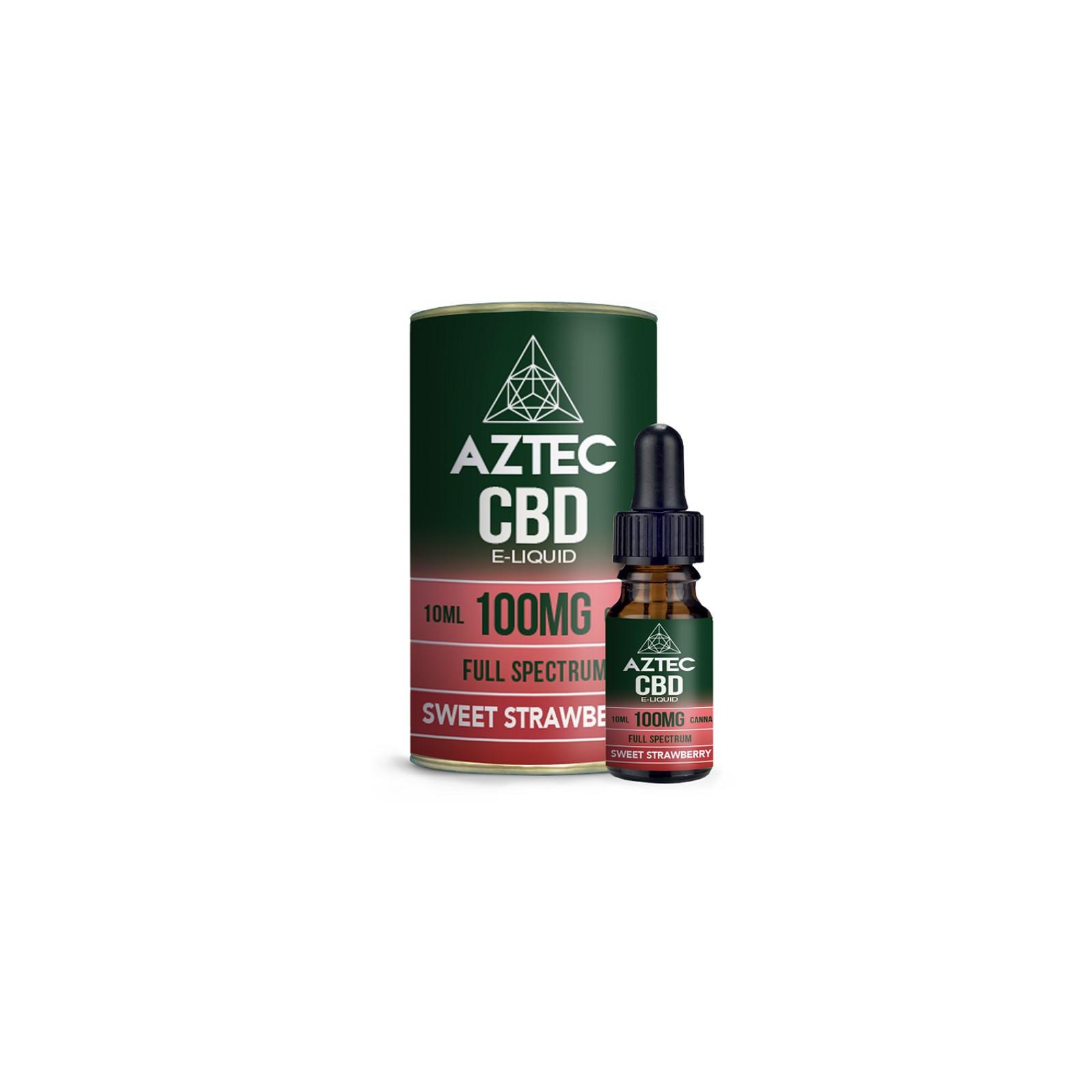 Sweet Strawberry Aztec CBD Full Spectrum